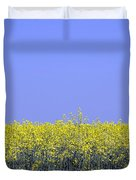 New Photographic Art Print For Sale Yellow English Fields 2 Duvet Cover