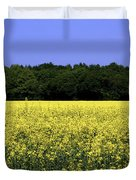 New Photographic Art Print For Sale Yellow English Fields Duvet Cover