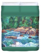 New River Fast Water Duvet Cover