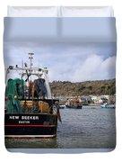 New Seeker - Lyme Regis Duvet Cover