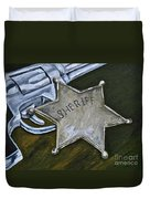 New Sheriff  In Town  Duvet Cover