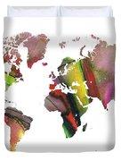 New World Order Duvet Cover