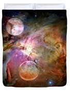 New Worlds Duvet Cover
