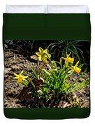 New Yellow Flowers 1 Duvet Cover