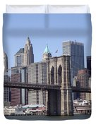 New York Bridge 3 Duvet Cover