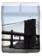 New York Bridge 5 Duvet Cover