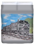 New York Central Train Duvet Cover