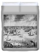 New York City, 1717 Duvet Cover