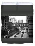 New York City Bridge Of Sighs Duvet Cover