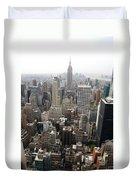 New York City Canyons Duvet Cover