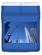 New York City Freedom Tower Duvet Cover