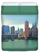 New York City Landscape Duvet Cover