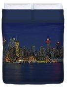 New York City Lights Duvet Cover