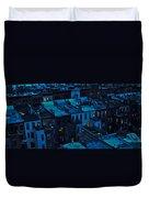 New York City Nightfall Duvet Cover