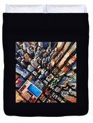 New York City Sky View Duvet Cover