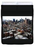 New York City Skyline 20 Duvet Cover