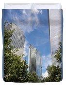New York City Skyscrapers Duvet Cover