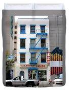 New York City Storefront 5 Duvet Cover