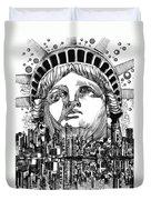 New York City Tribute Duvet Cover