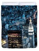 New York City Triptych Part 1 Duvet Cover
