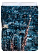 New York City Triptych Part 2 Duvet Cover