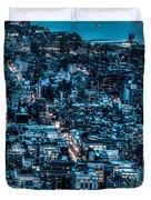 New York City Triptych Part 3 Duvet Cover