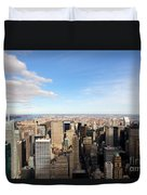 New York City View Duvet Cover