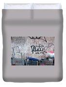 New York City Wall Duvet Cover