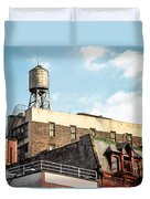 New York City Water Tower 2 Duvet Cover