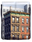 New York City - Windows - Old Charm Duvet Cover