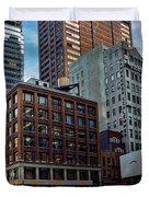 New York Energy Duvet Cover