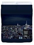 New York Evening Duvet Cover