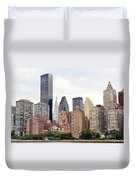 New York From Roosevelt Island Duvet Cover