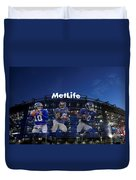 New York Giants Metlife Stadium Duvet Cover