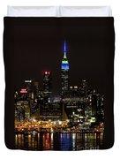 New York Honors Seattle Seahawks Duvet Cover