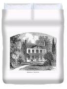 New York: Mansion, 1763 Duvet Cover