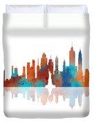 New York New York Skyline  Duvet Cover