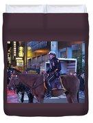 New York Police Department Duvet Cover