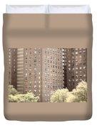 New York Public Housing Duvet Cover