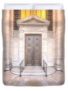 New York Public Library Entrance I Duvet Cover