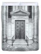 New York Public Library Entrance II Duvet Cover