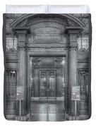 New York Public Library Main Reading Room Entrance II Duvet Cover