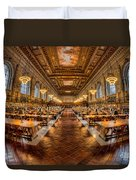 New York Public Library Main Reading Room Vii Duvet Cover