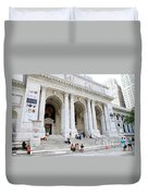 New York Public Library Duvet Cover