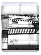 New York Shadows Duvet Cover