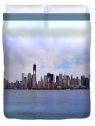 New York - Standing Tall Duvet Cover