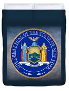 New York State Seal Duvet Cover