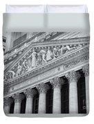 New York Stock Exchange II Duvet Cover