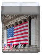 New York Stock Exchange IIi Duvet Cover