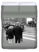 New York Street Photography 13 Duvet Cover